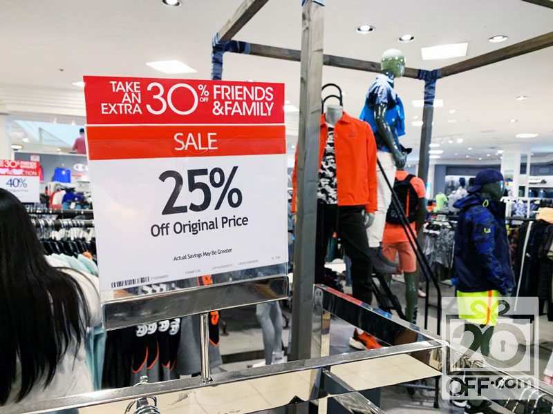 30% OFF Macys Friends and Family Coupon