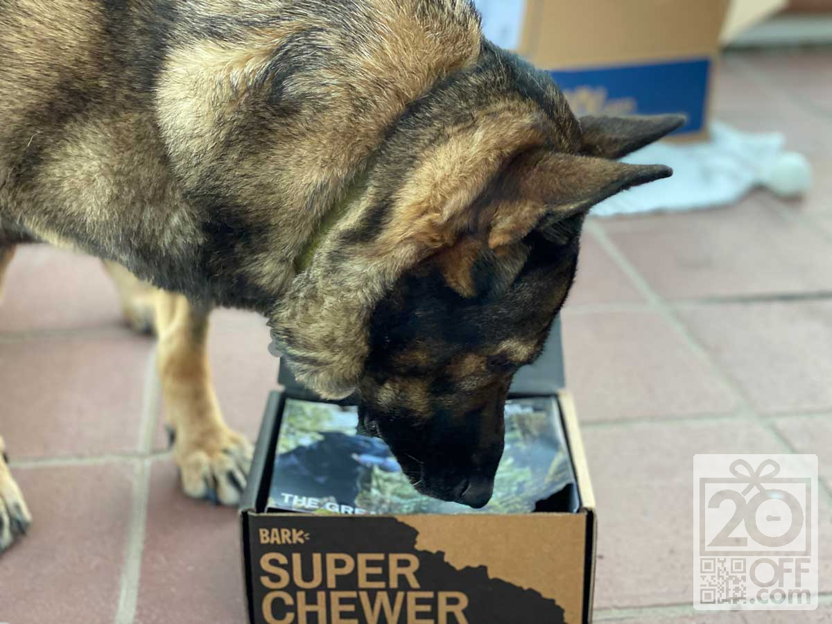 April SuperChewer box