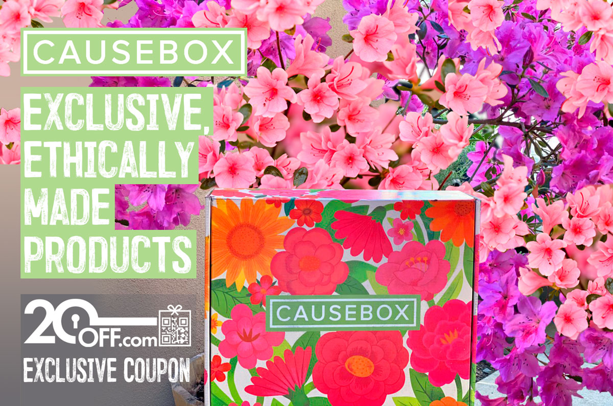 CauseBox Spring Welcome Box Coupon Codes