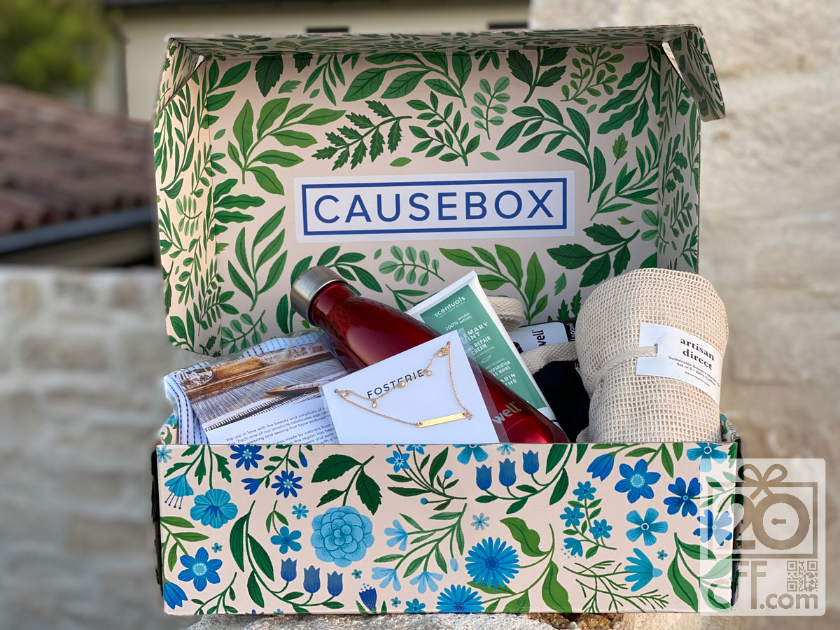 CauseBox Spring Welcome Box Coupon