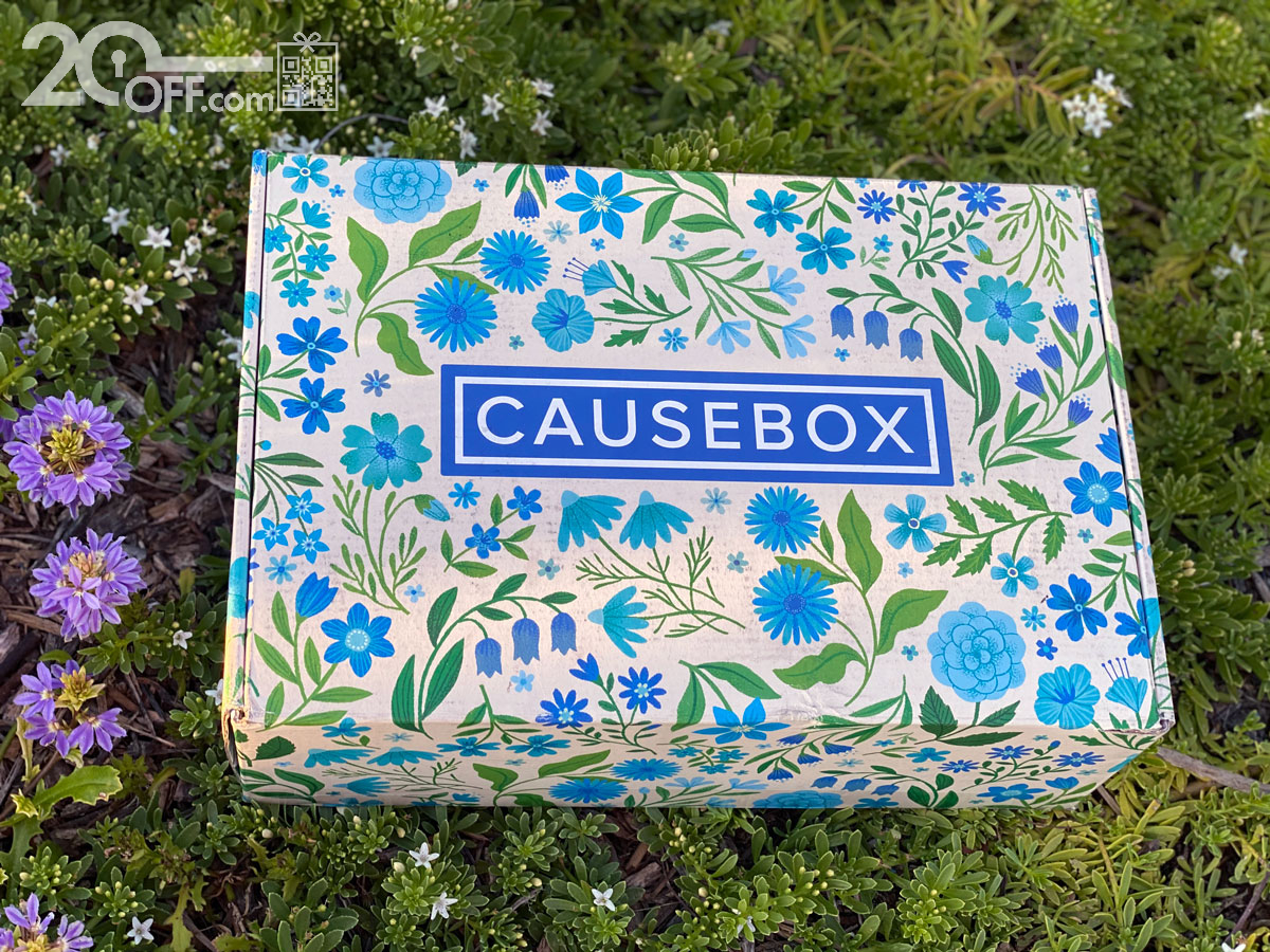 CauseBox Spring Welcome Box