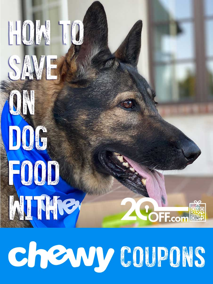 Chewy Dog Food Coupons 20off