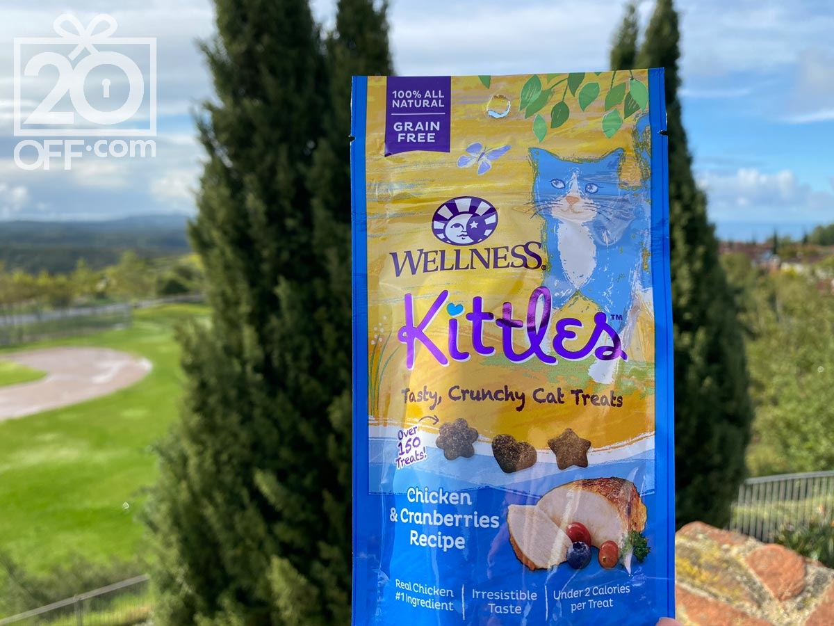 Chewy Wellness Kittles Crunchy Treats offers