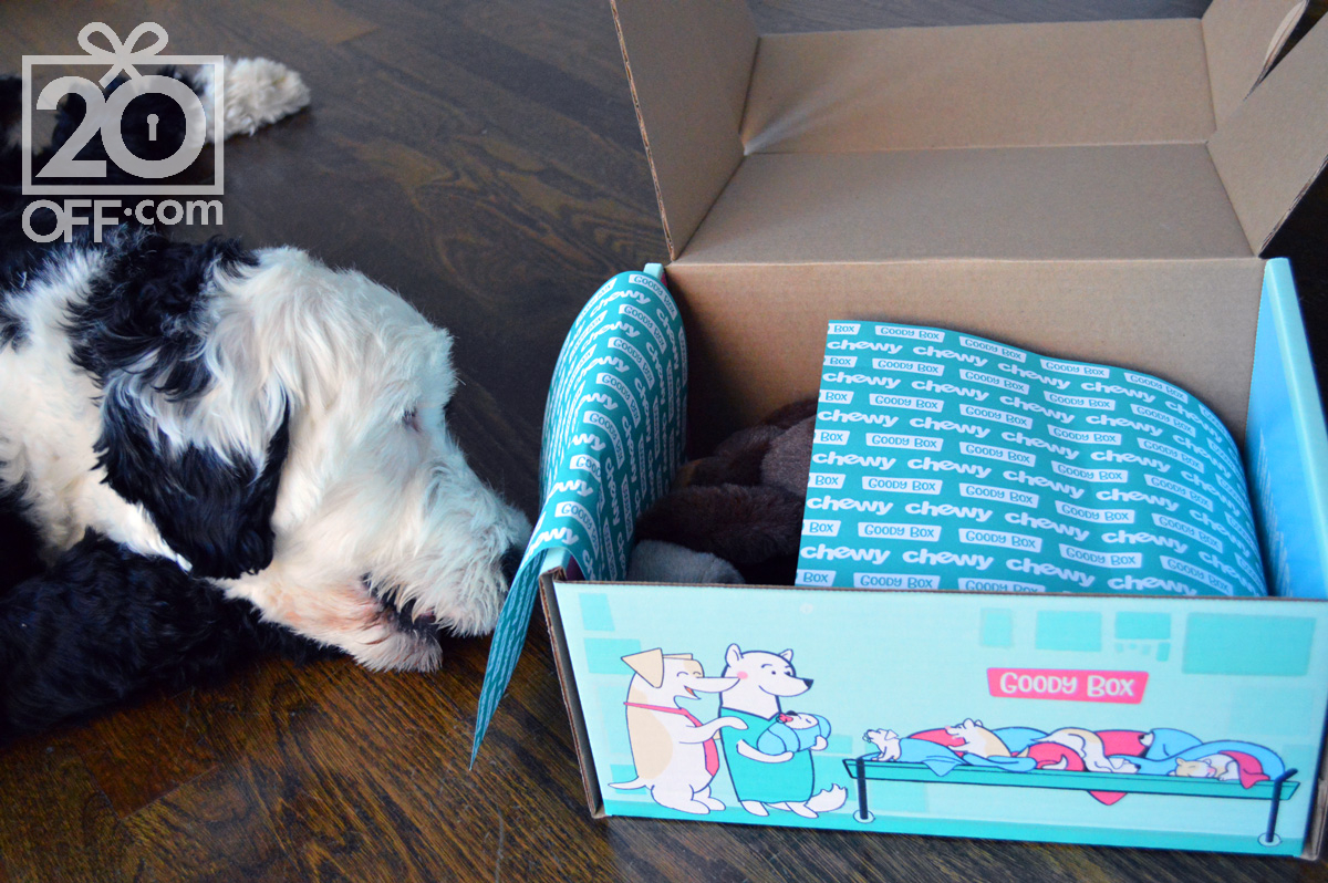 Chewy's Goody Box Coupons