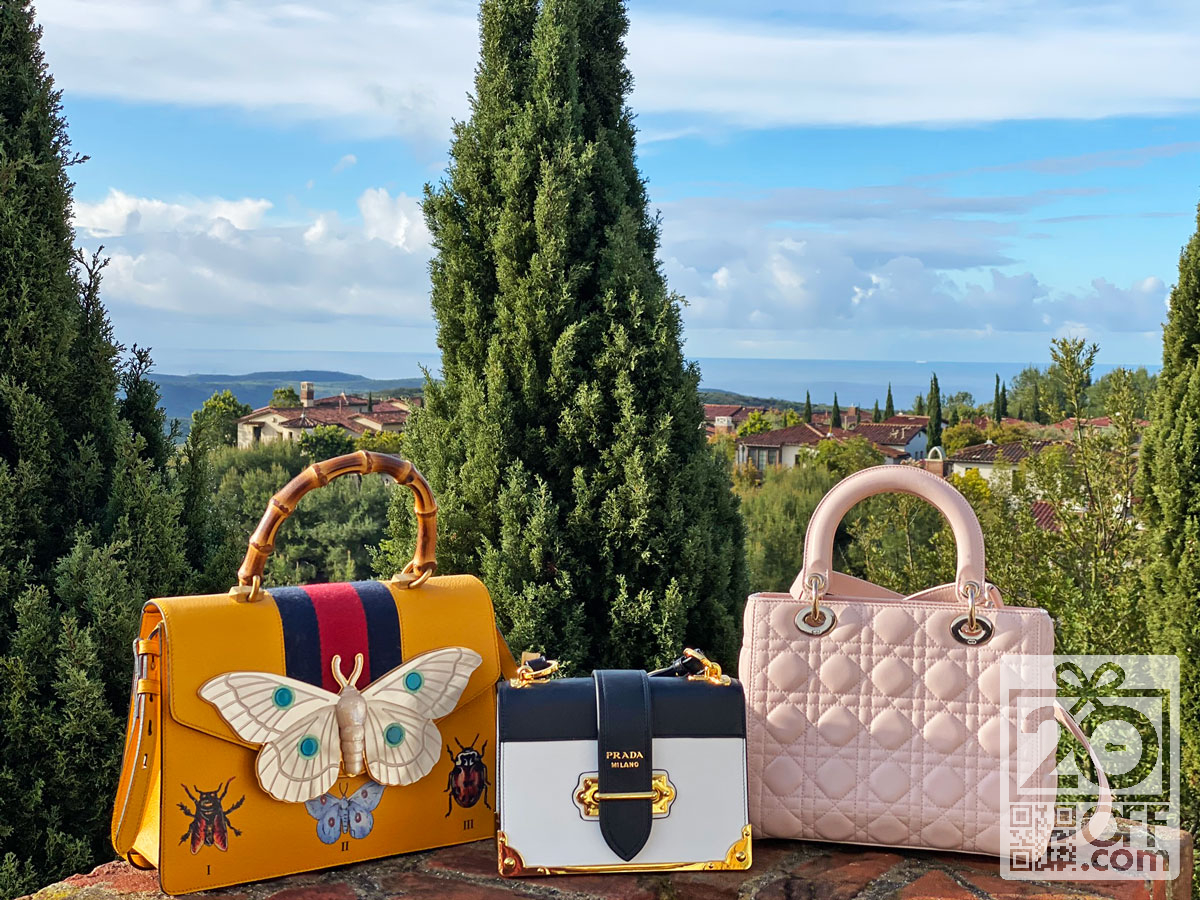 Dior and Prada Bags for Mom