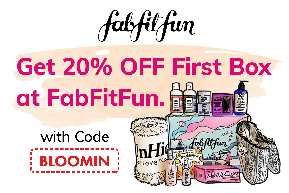 FabFitFun 20off Coupon