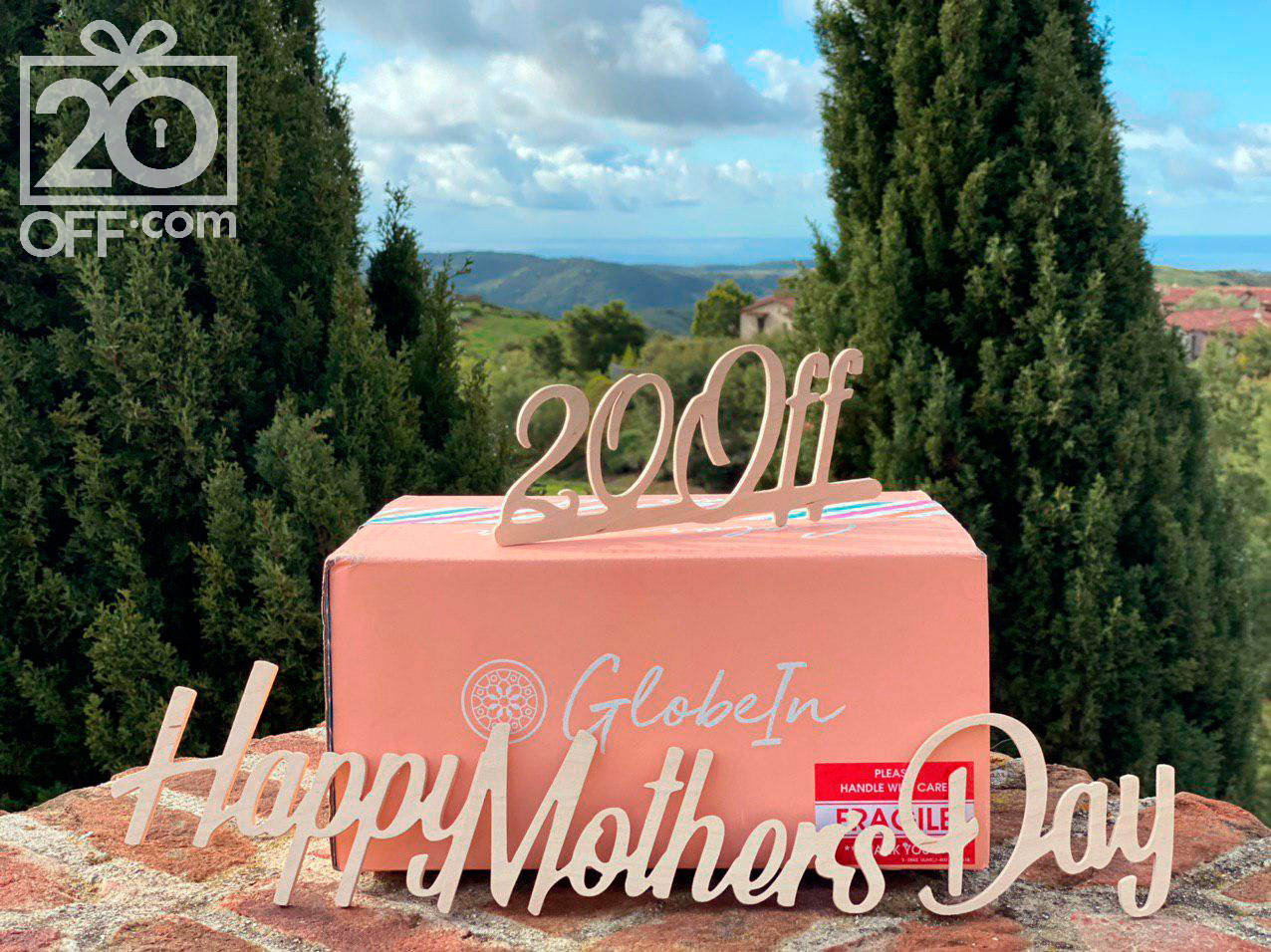 GlobeIn Mother's Day Promo 20off