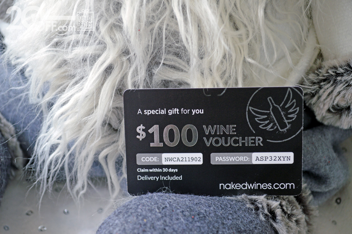GlossyBox Nakedwines Coupon