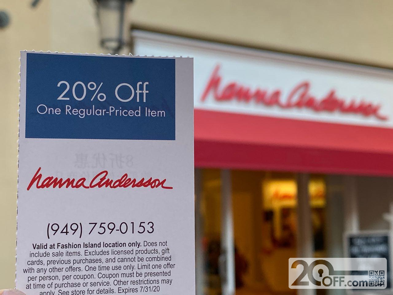 Hanna Andersson Coupon 20off