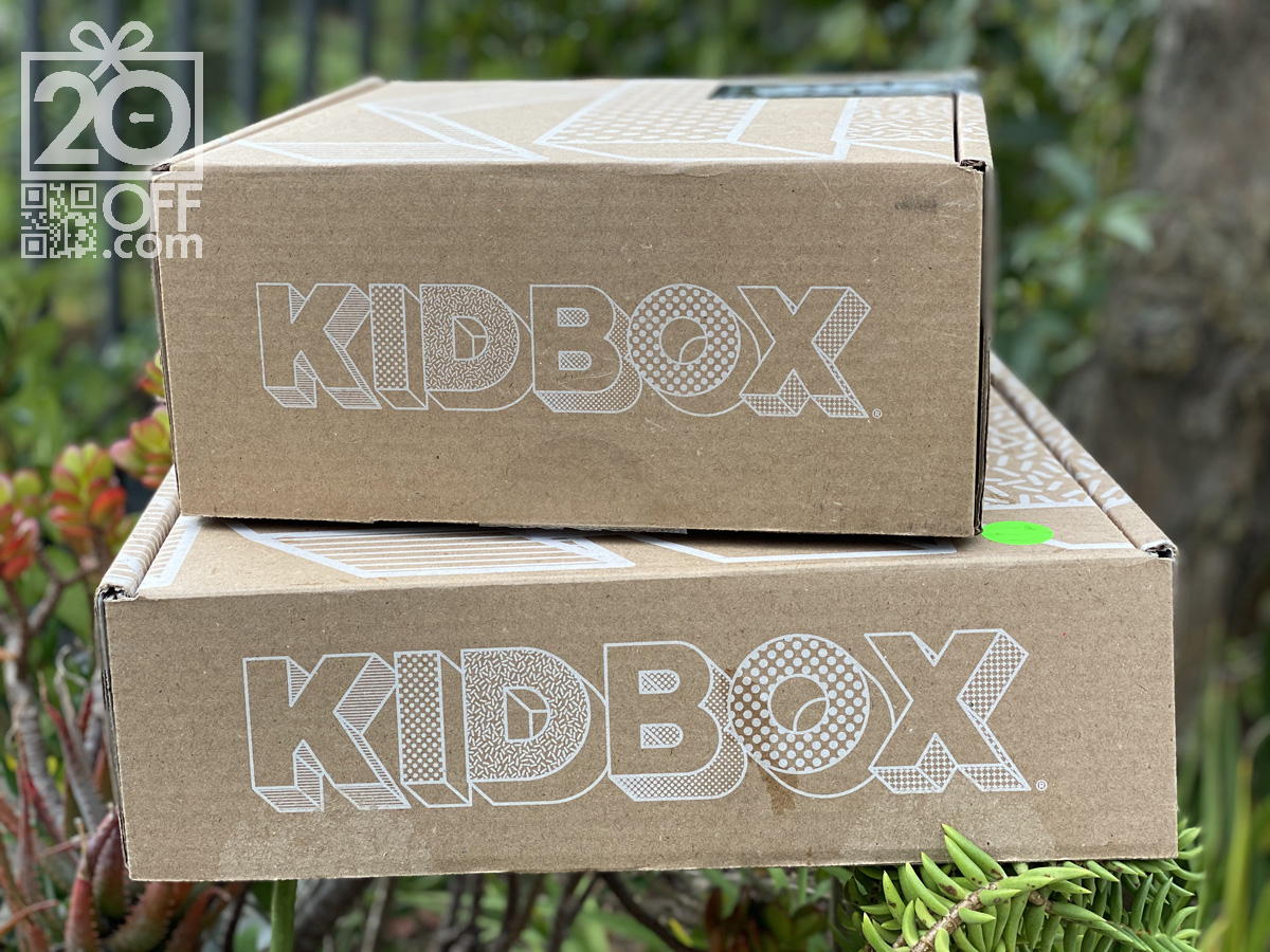 Kidbox Coupon 20off