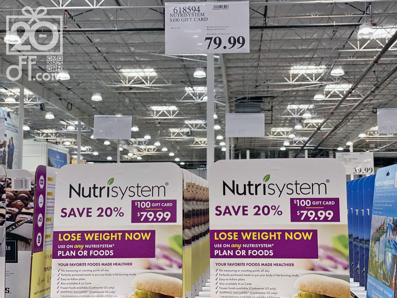 NutriSystem 20% off Costco Coupon