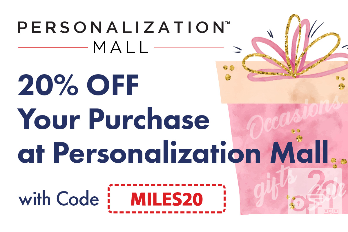 Personalization Mall Coupon