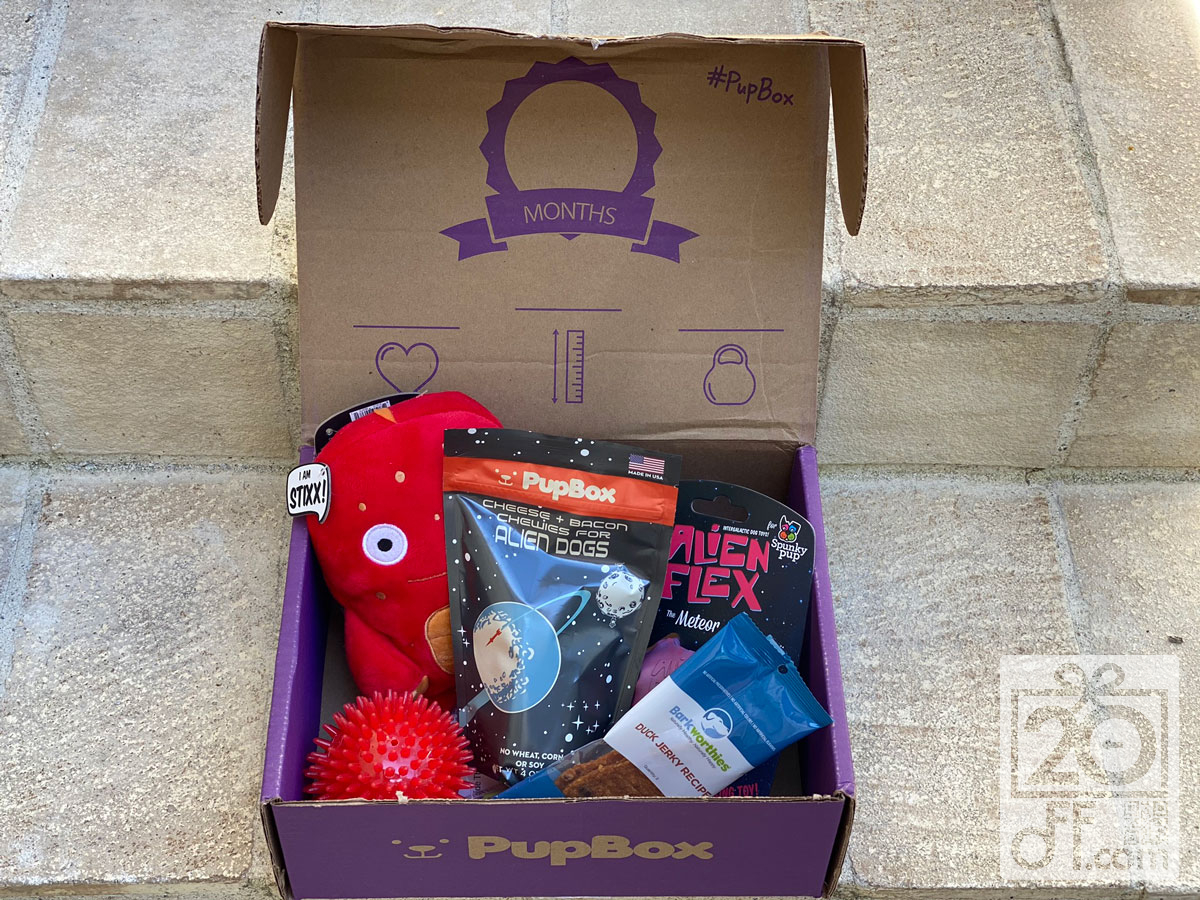 PupBox Coupons 20off
