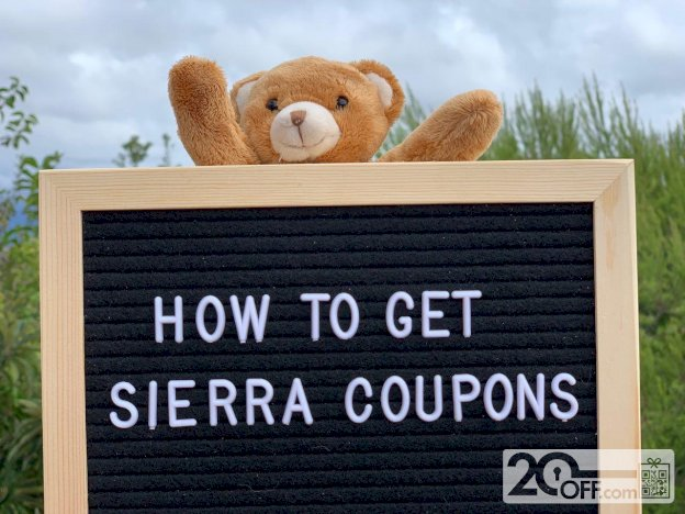 Sierra Coupons
