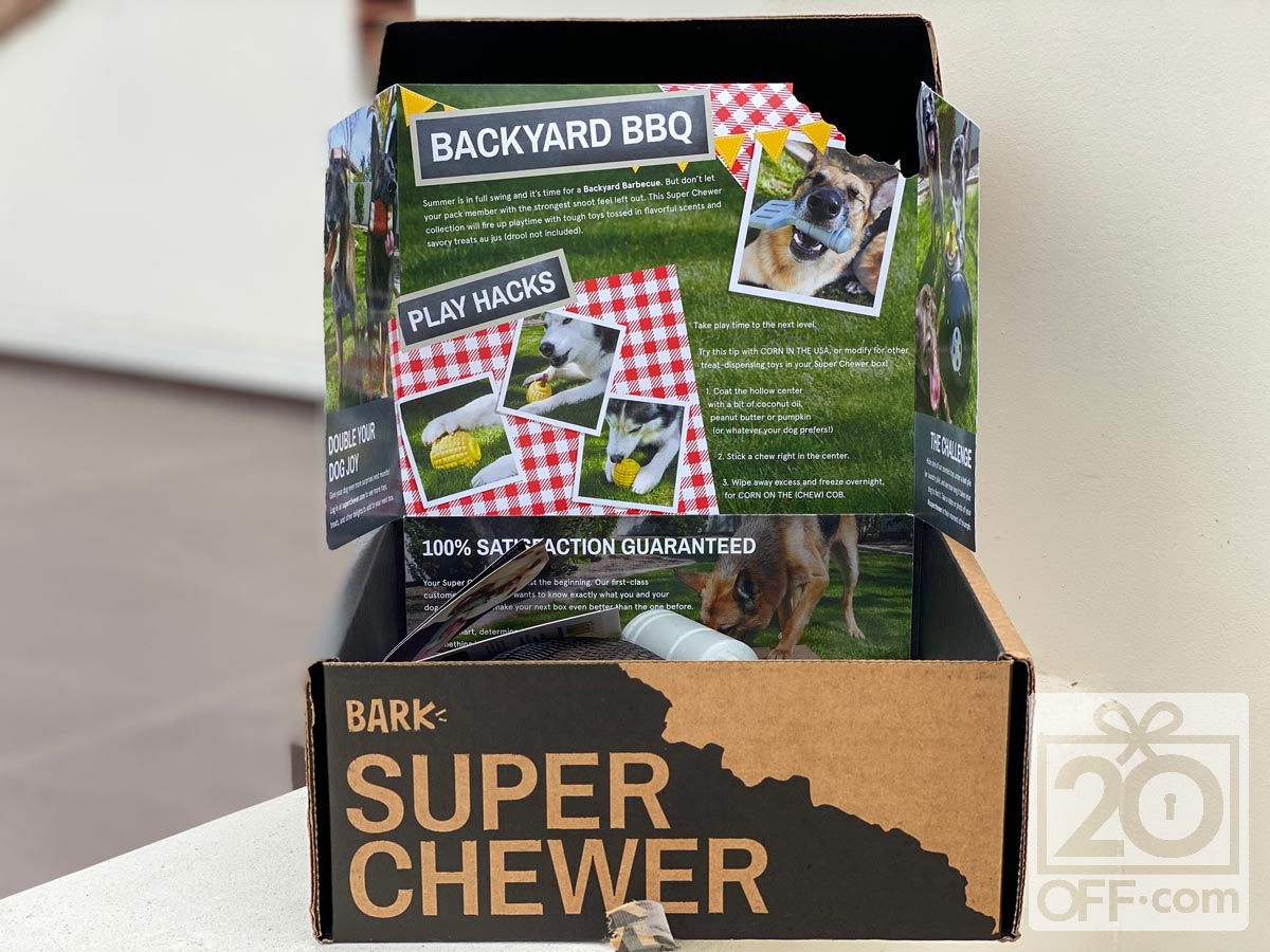 Super Chewer Backyard BBQ Box