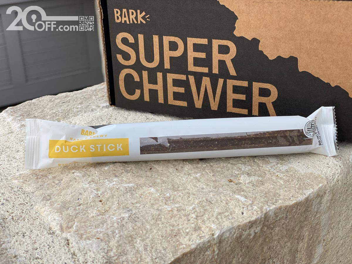 Super Chewer Duck Stick hard chew