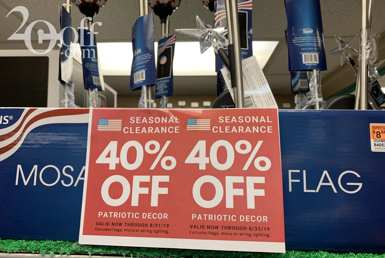 Ace Hardware 40% OFF Discount