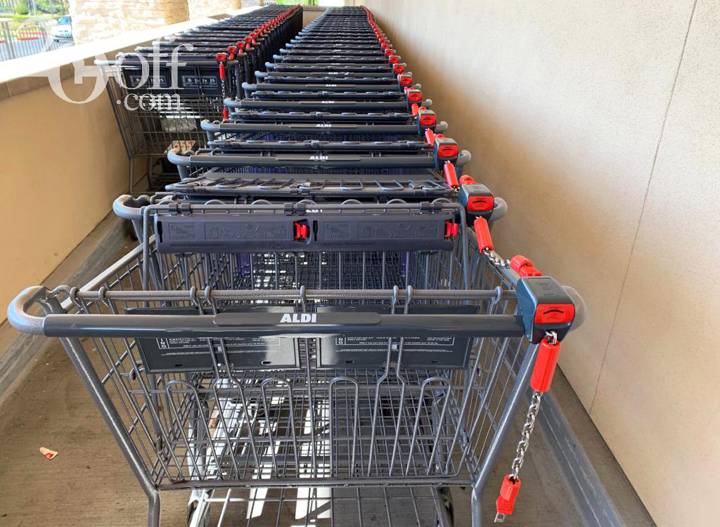 ALDI Shopping Racks