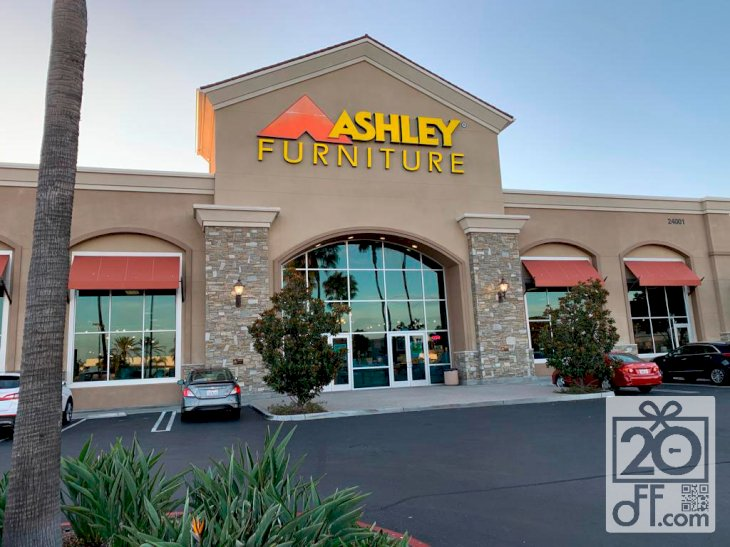 Ashley Furniture Storefront California