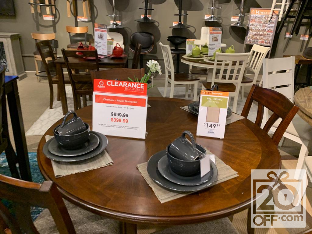 Ashley Round Dining Set Clearance