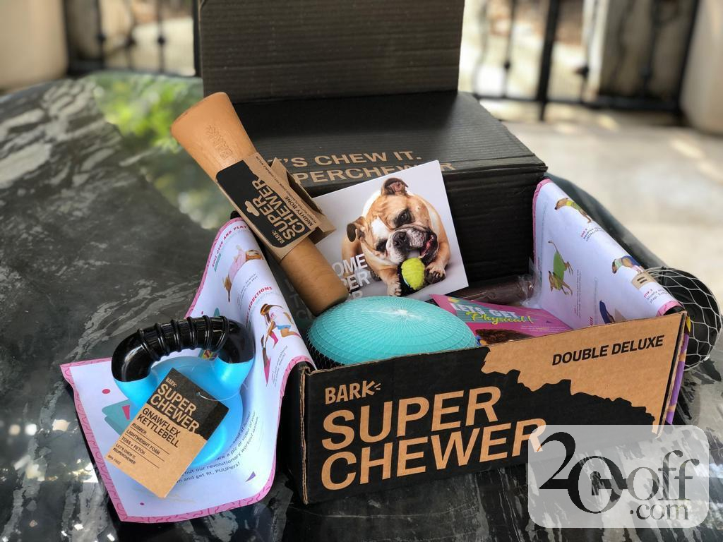 Bark Super Chewer Double Deluxe