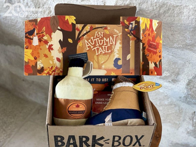 BarkBox Autumn Box