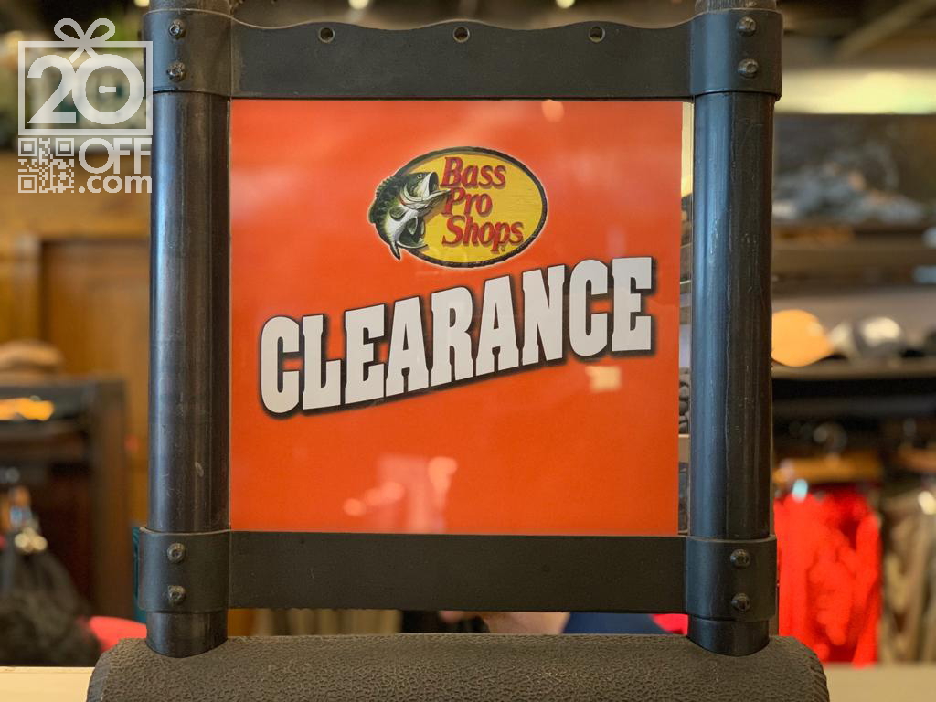Bass Pro Shops Clearance