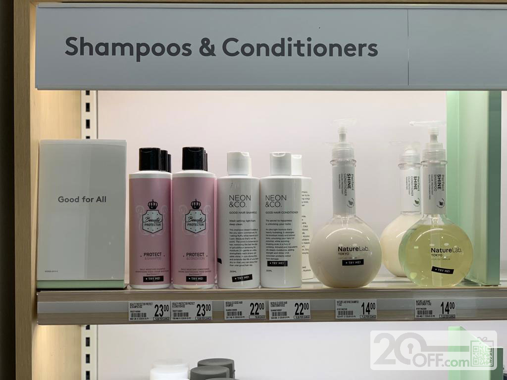 Birchbox Shampoos and Conditioners
