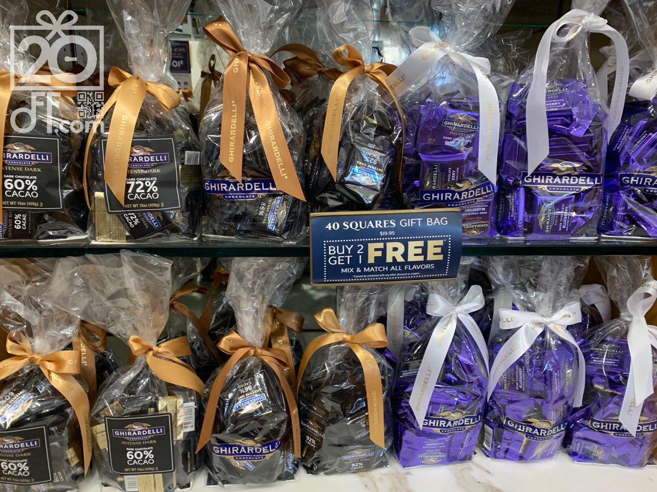 BOGO Mix Gift Bag Ghirardelli