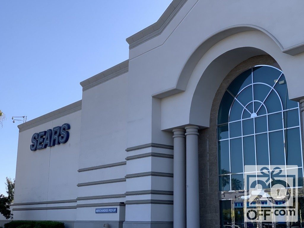 California Sears Storefront