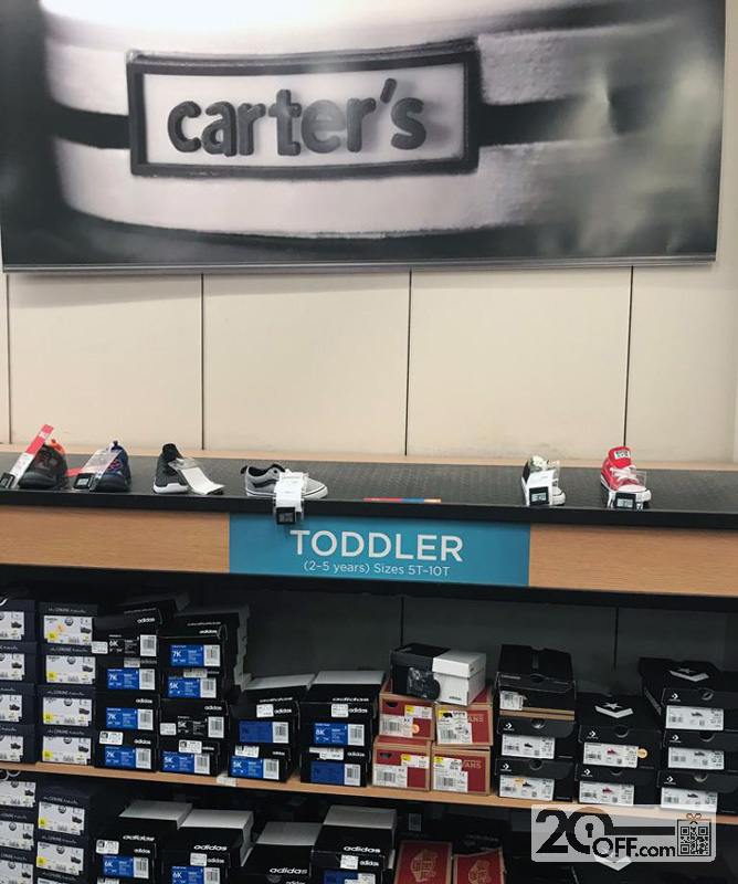 Carter's baby and toddler shoes