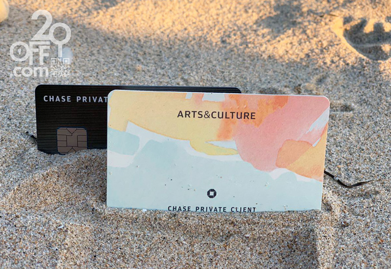 Chase private client arts and culture card