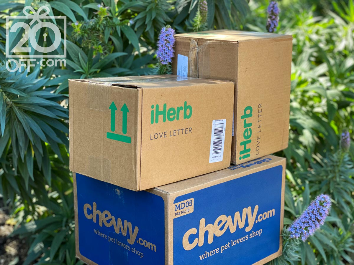 Chewy and iHerb
