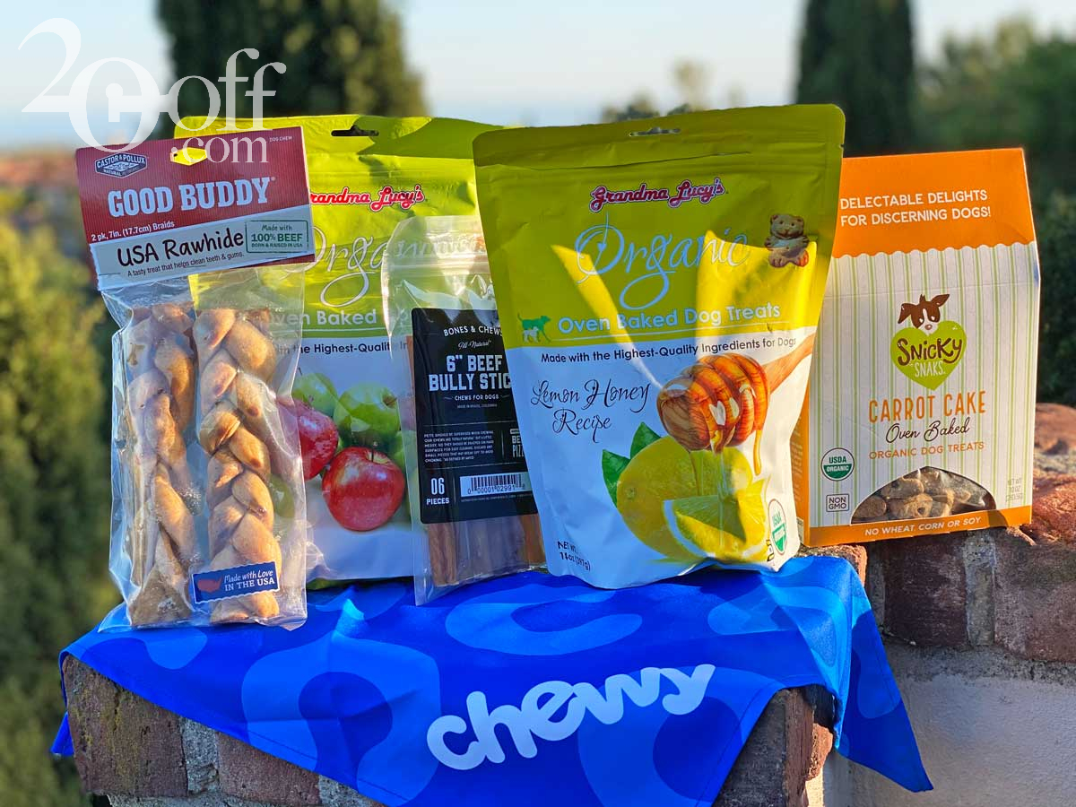 Chewy Dog Treats Deals