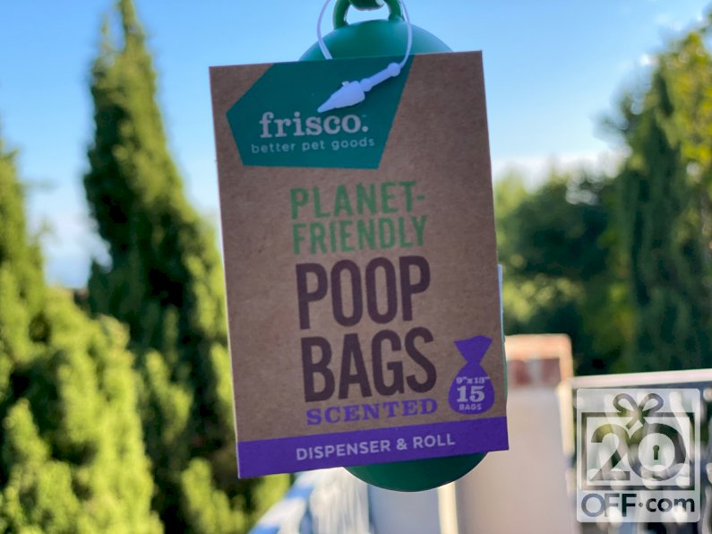 Chewy Frisco Poop Bags