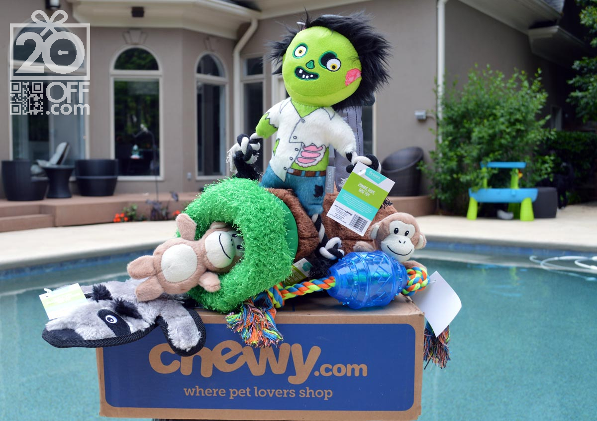 Chewy Pet Toy Summer Coupons
