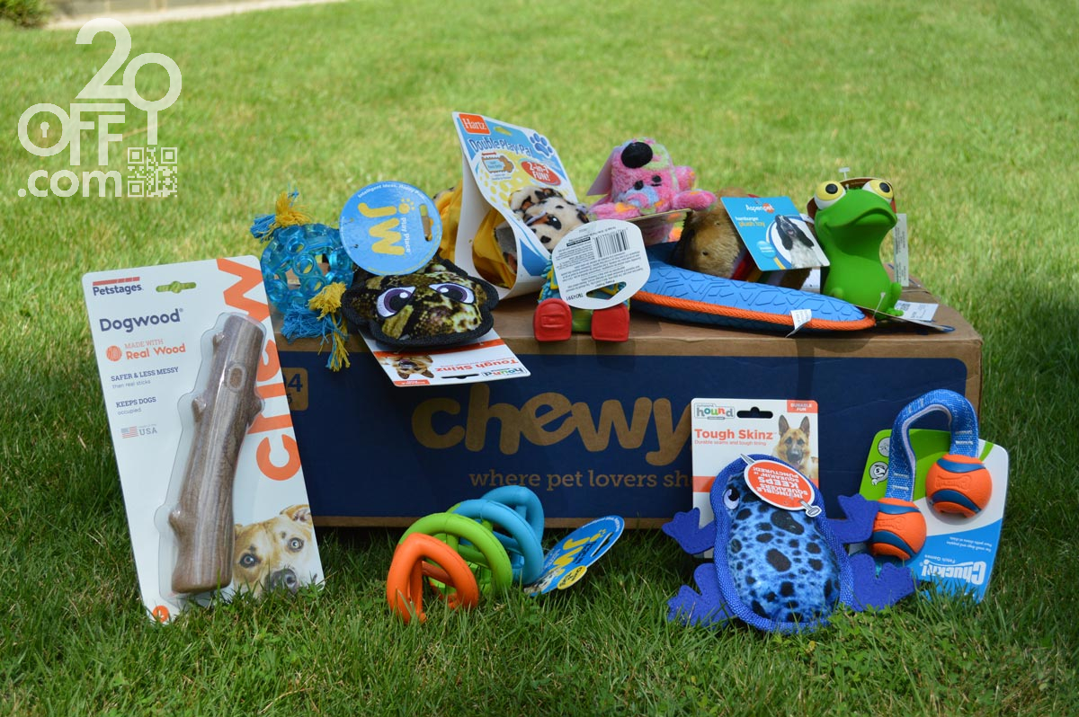 Chewy Pet Toy Summer Discount