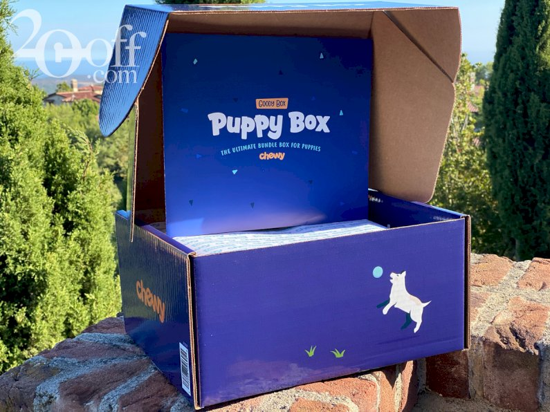 Chewy's Goody Box for Puppies 2020