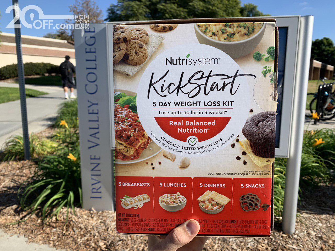 Dieting in College with Nutrisystem