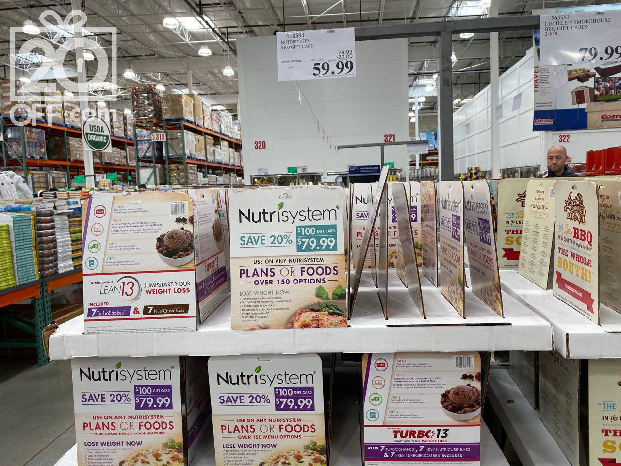 Costco Nutrisystem Gift Card Sale 2019