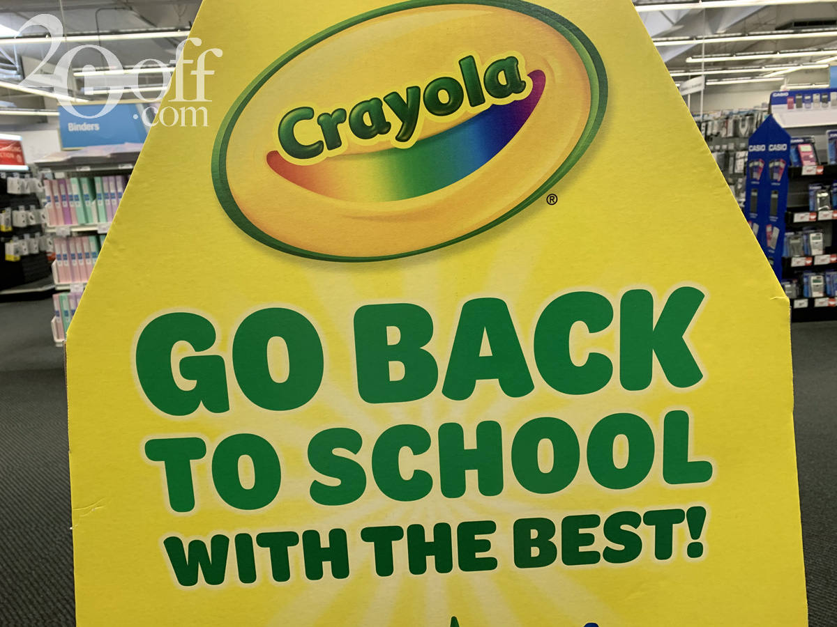 Crayola 20off Coupon