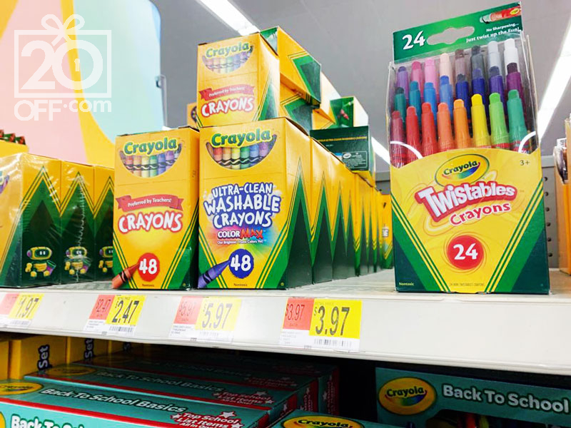 Crayola Coloring at Walmart