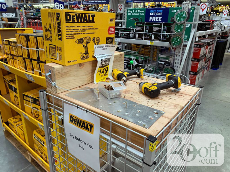 Dewalt on Sale at Lowe's
