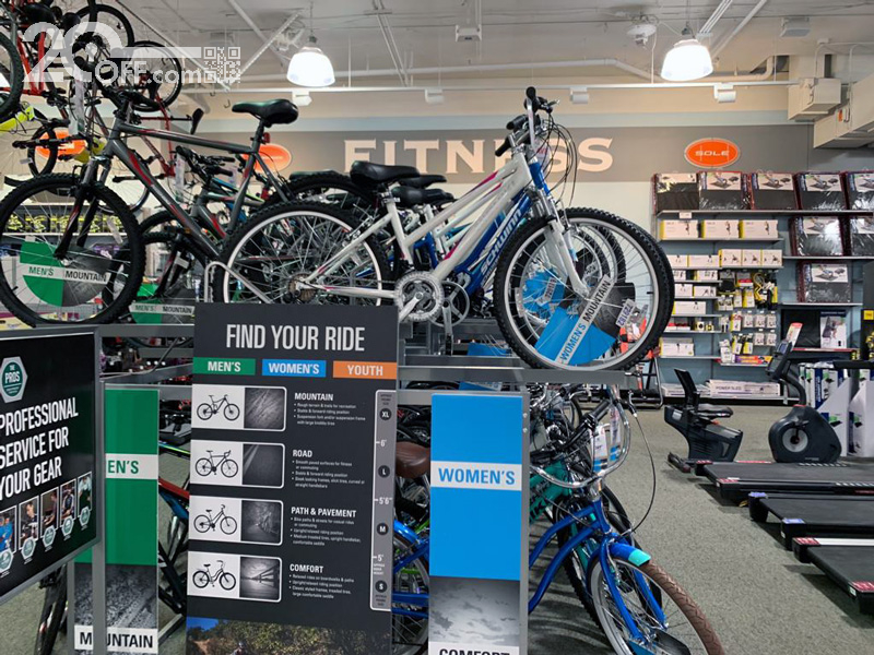 Dick's Sporting Goods Biking Discounts