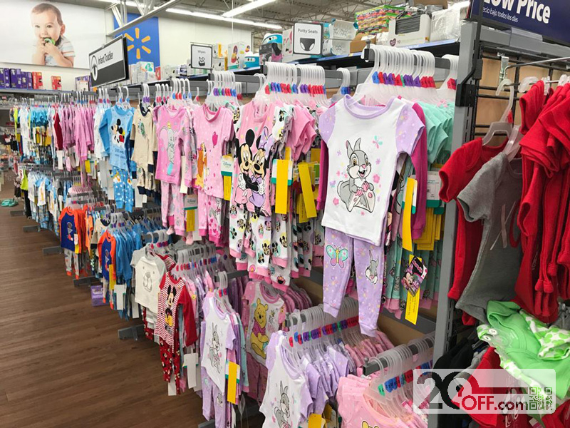 Disney clothes at Walmart