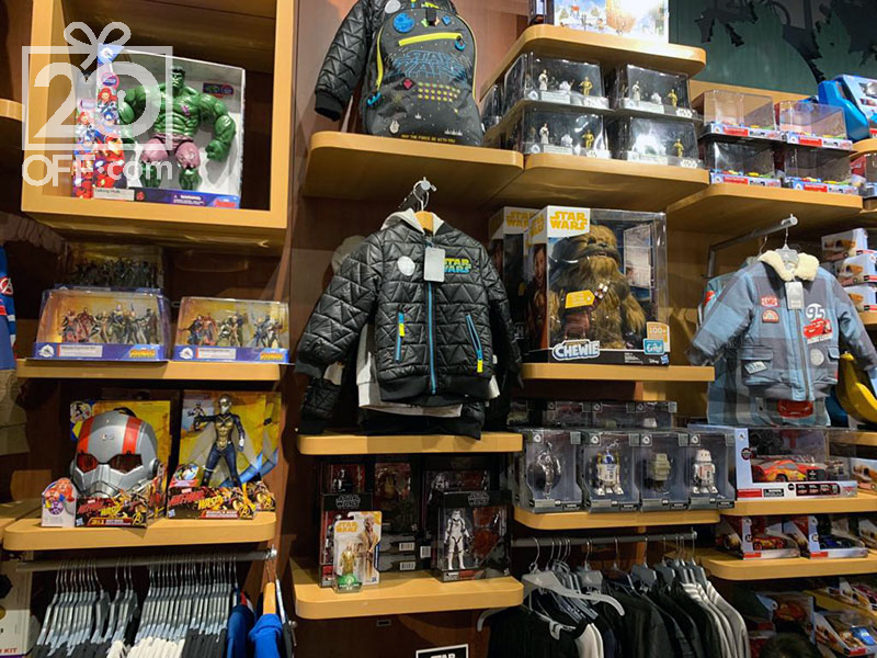 Disney store star wars