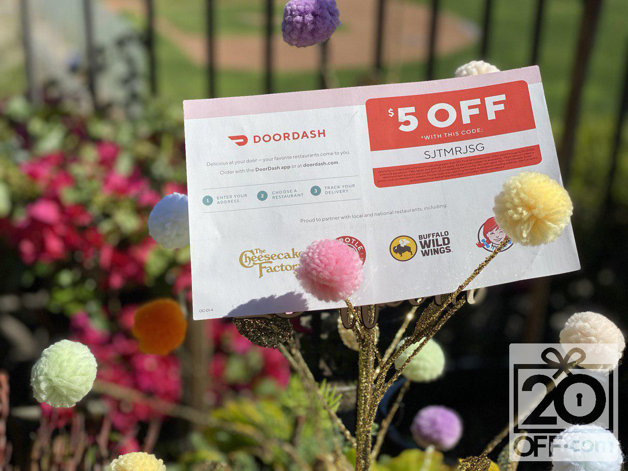 DoorDash Coupons. Stay Home Special Promotions.  May 2020