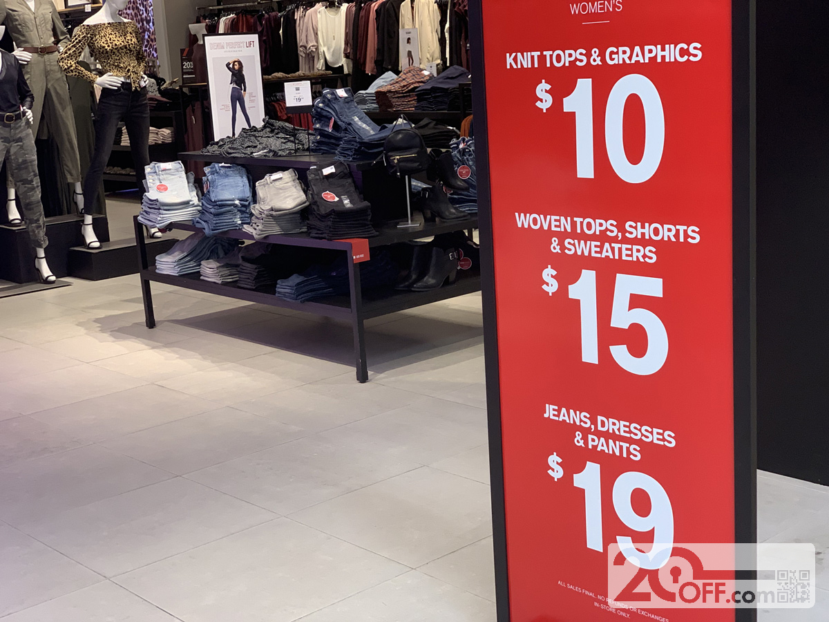 Express Women's Clothing Promotion
