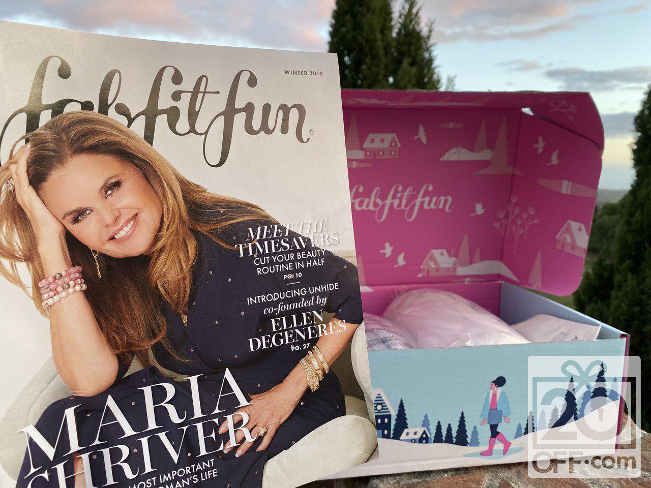 FabFitFun Winter 2019 Catalogue