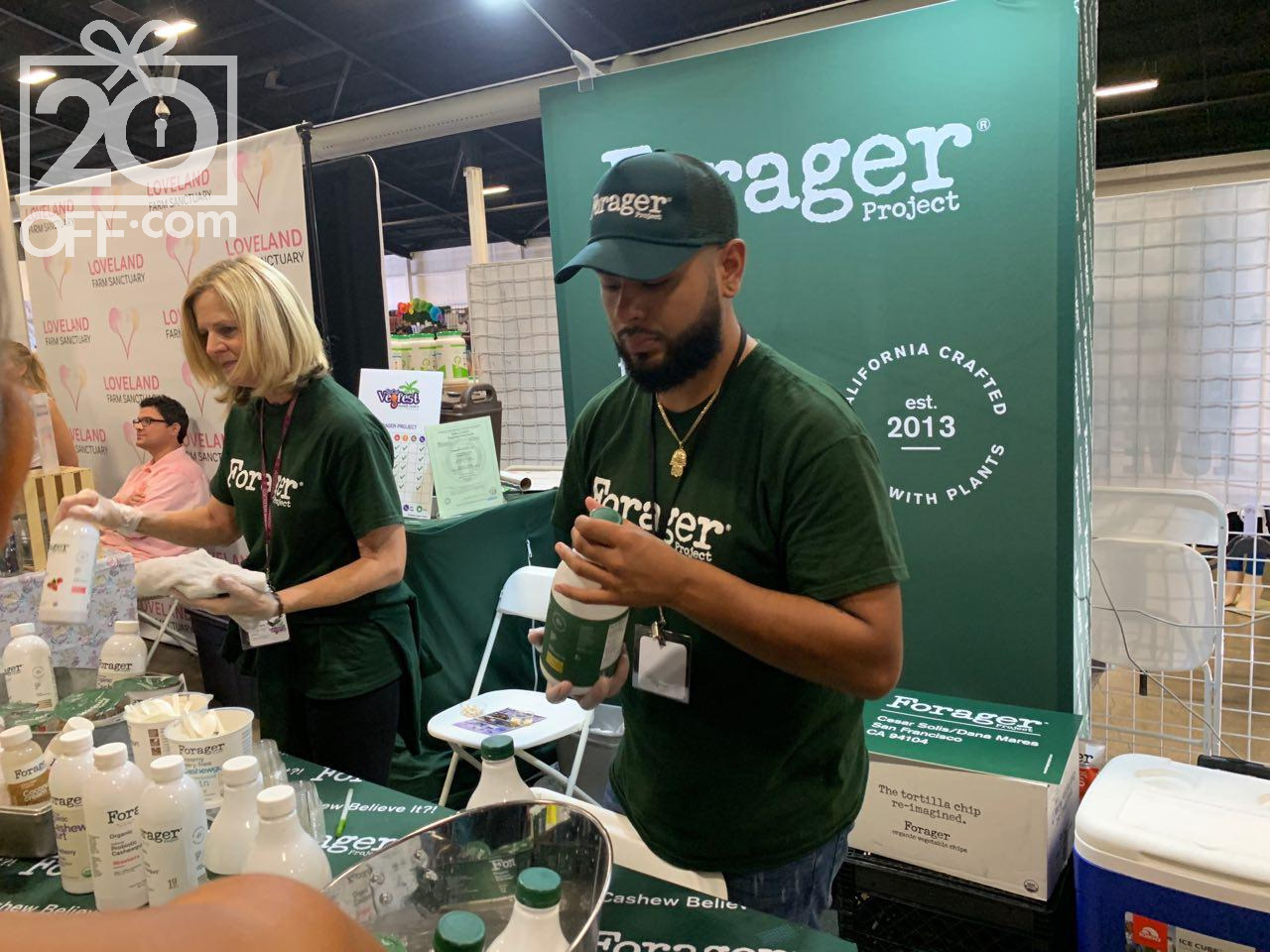 Farager at SoCal Vegan Fest 2019